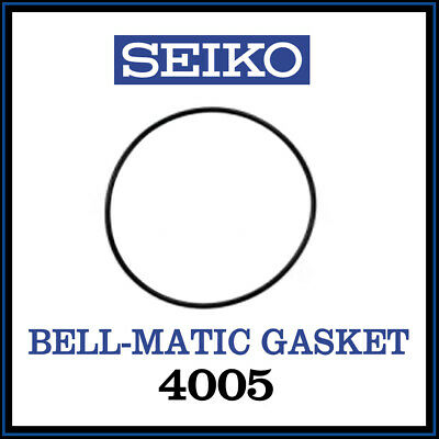 £5.95 • Buy • SEIKO Case Back Gasket, High Quality, Swiss Made, For Seiko Bell-Matic 4005  •