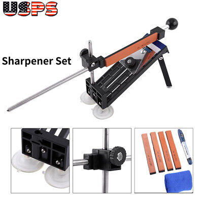 $27.81 • Buy Professional Kitchen Sharpener Kit Sharpening Knife Fix-Angle 4 Stones