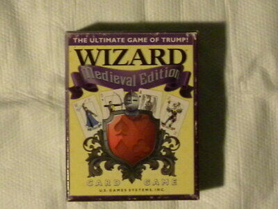 Wizard Medieval Edition Card Game The Ultimate Game Of Trump • 7$