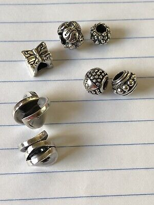 $ CDN117.38 • Buy Authentic Trollbeads Sterling Silver Lot Of 7 All Stamped