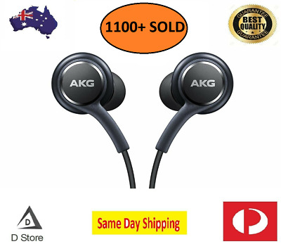 AU9.99 • Buy Samsung AKG Earphones For S10 S10+ Note 9 Galaxy Mic Headset Headphones