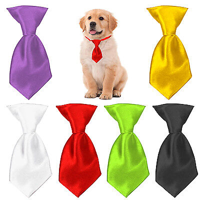 Cute Stylish Satin Neck Tie For Dogs Or Cats. Pet Collar For Wedding Etc • 2.99£