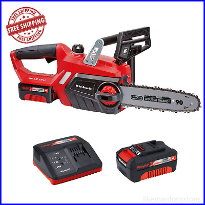 View Details Heavy Duty Einhell 18v Lithium Cordless 10  Chainsaw Saw & Battery With Charger • 168.95£