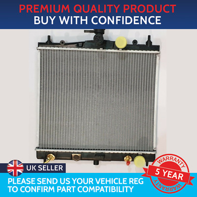 Radiator To Fit Nissan Micra K12 2003 To 2010 Nissan Note E11 Automatic Vehicles • 65.50£