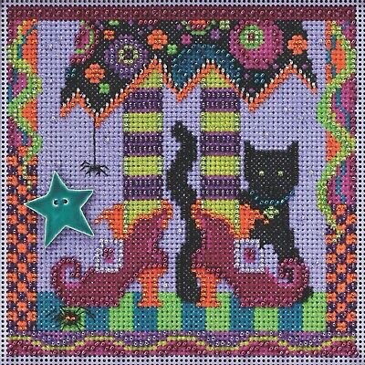 $12.99 • Buy Magic Shoes Beaded Kit Mill Hill 2015 Buttons & Beads Autumn MH145201