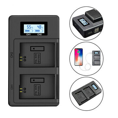 $ CDN16.13 • Buy NP-FW50 Camera Battery Charger Dual Charger For Sony A6000 5100 A3000 Alpha 7