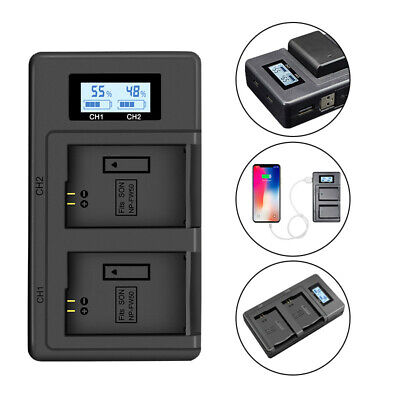 $ CDN15.83 • Buy NP-FW50 Camera Battery Charger Dual Charger For Sony A6000 5100 A3000 Alpha 7