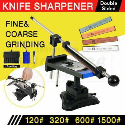 AU42.59 • Buy Professional Edge Knife Sharpening Fix-angle Sharpener System With 4 Stones-NEW