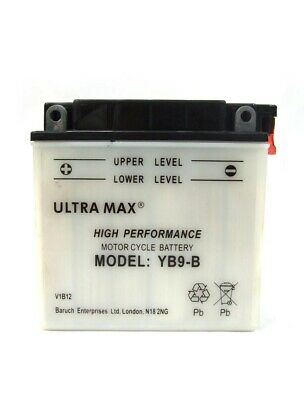 Ultramax YB9-B Replacement Battery For Aprilia RS Extrema RX (- 97) - 125 Cc • 21.18£