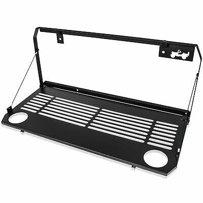 AU143.99 • Buy Tailgate Table Rear Door Foldable Table Storage For Jeep Wrangler JL 2018~2021