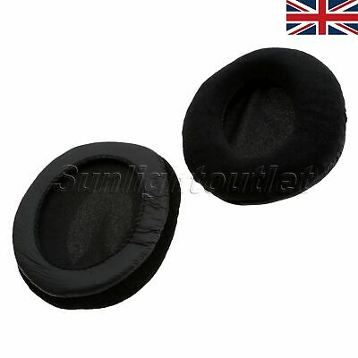 UK STOCK 55mm Velour Earpad Black For Shure SRH1840 HPAEC840 Headphone Cushion • 7.99£