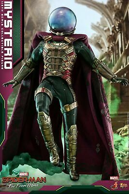 Hot Toys Spider-Man Far From Home 1/6th Scale Mysterio Collectible Figure MMS556 • 269$