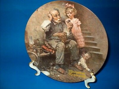 $ CDN26.44 • Buy Set Of (5) Norman Rockwell Collector Plates - Heritage Collection 1978-1982
