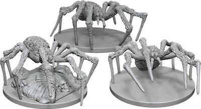 AU9.99 • Buy Dungeons & Dragons Nolzur's Marvelous Miniatures: Spiders - Unpainted