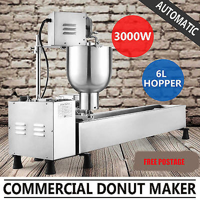 £1110 • Buy Commercial Automatic Donut Fryer Making Machine Donut Maker Free Shipping