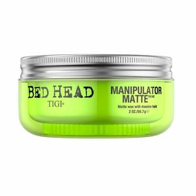 Bed Head By Tigi Manipulator Matte Hair Wax With Massive Hold, 56.7 G Pack Of 2 • 13.99£