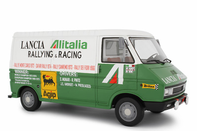 £119.90 • Buy Laudoracing-models Fiat 242 Assistenza Lancia For Kyosho Autoart 1:18 Lm107a1