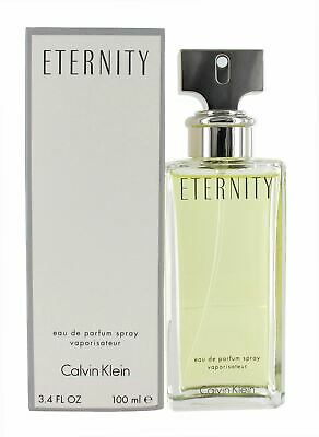 Calvin Klein Eternity 100ml Eau De Parfum Spray For Women - New • 28.99£