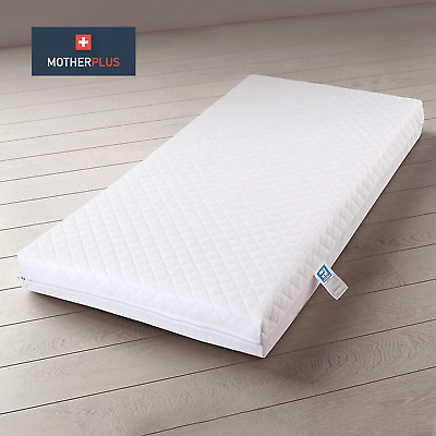 £23.99 • Buy MotherPlus™ Waterproof Baby Toddler Cot Bed Mattress - Zipped & Removable Cover