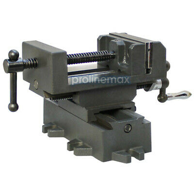 $65.99 • Buy 2 Way 3'' Drill Press X-Y Compound Vise Cross Over Slide Mill Drill Press Table