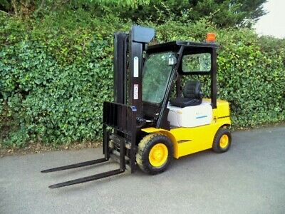 £4400 • Buy Halla Diesel 2 Ton Counterbalance Forklift Truck With Side Shift
