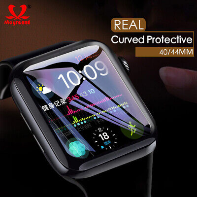 $ CDN2.70 • Buy For Apple Watch Series 5 40MM/44MM 9H Tempered Glass Screen Protector Film 2PACK