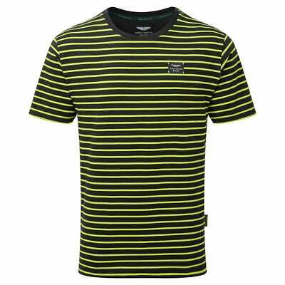 Aston Martin Racing Team Limited Edition T-Shirt 2019 Navy & Lime Green ADULT • 34£