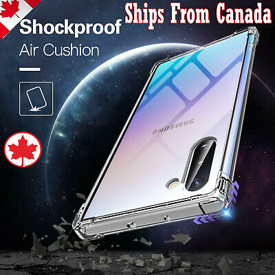 $ CDN6.99 • Buy For Samsung Galaxy Note 8 9 10 Plus Note10+ Heavy Duty Soft Clear Gel Case Cover