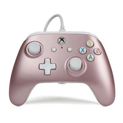 AU65.95 • Buy Xbox One Enhanced Wired Controller (Rose Gold)