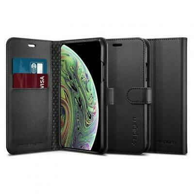 AU36.71 • Buy Spigen IPhone XS Max (6.5 ) Premium Flip Wallet Case,Black, Convenience,Premium