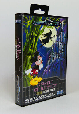 AU14.50 • Buy SEGA Mega Drive SMD Game CASE ONLY - Castle Of Illusion Starring Mickey Mouse