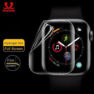 $ CDN3.29 • Buy For Apple Watch Screen Protector Series 5 4 3 2 1 44mm/42mm/40mm/38mm Film 5pcs