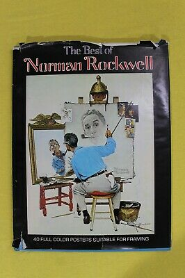 $ CDN13.62 • Buy The Best Of Norman Rockwell 40 FULL COLOR POSTERS FOR FRAMING 1979