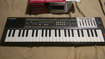 $22.88 • Buy Vintage Casio Casiotone MT-100 Electronic 29 Key Keyboard Piano *Parts Only*