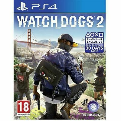 AU17.95 • Buy Watch Dogs 2 - Playstation 4 CD Like New