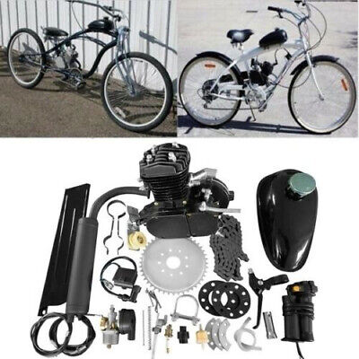 $ CDN263.63 • Buy 2-Stroke 80cc Engine Motor KIT GAS FOR MOTORIZED BICYCLE CYCLE PUSH BIKE
