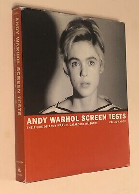$30 • Buy Andy Warhol Screen Tests: The Films Of Andy Warhol Catalogue Raisonne