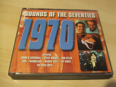 SOUNDS OF THE SEVENTIES: 1970 - Various Artists 1970s 70s  3 CD Readers Digest • 72£