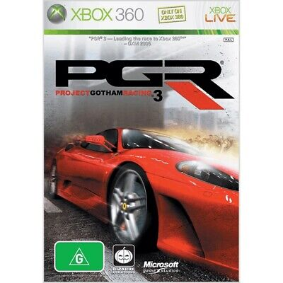 AU18.80 • Buy Pgr Project Gotham Racing 3 / Xbox 360  - Pre-loved - Pal. Booklet Included.