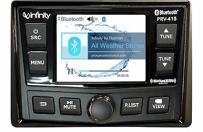 $389.95 • Buy Infinity PRV-415 Marine Digital Media Bluetooth Boat Stereo Receiver REFPRV415