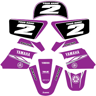 $ CDN60.47 • Buy YAMAHA PW 50 PW50  GRAPHICS KIT DECALS DECO Fits Years 1990 - 2018 Purple