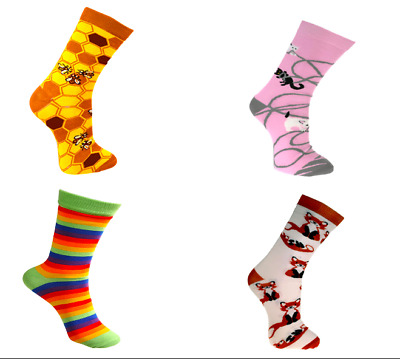 Eco Friendly Fairtrade Bamboo Socks, 21 Designs In Two Sizes, Mens And Womens • 6.50£