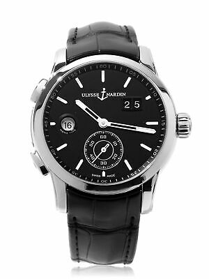 £3601.85 • Buy Ulysse Nardin Dual Time Stainless Steel 42mm Automatic 3343-126-92