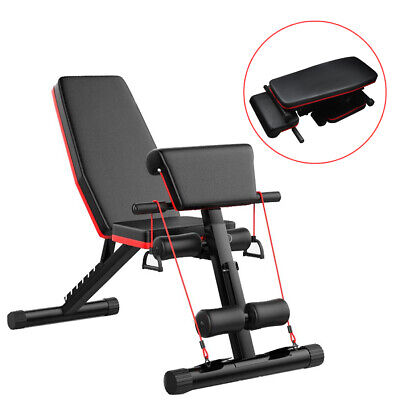 £49.99 • Buy Folding Back Hyper Extension Exercise Bench Hyperextension Fitness Roman Chair