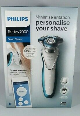 AU288.94 • Buy Philips Smart Shaver Series 7000 Wet & Dry Exfoliation Brush Trimmer RRP £300