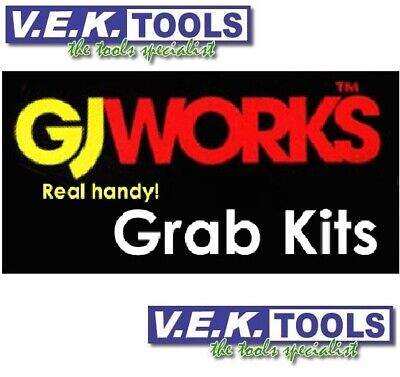 AU37 • Buy GJ Works GKA Grab Kits - Screws, Nuts, Bolts, Washers, Fuses, Pins, Clips, Fuses