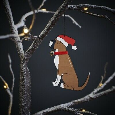 Boxer Christmas Tree Decoration/Ornament Bauble Gift Dog • 7.95£