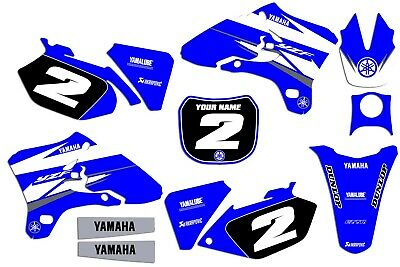 $89.99 • Buy 2003 2004 2005 Yamaha YZF 250 450 YZ250F YZ450F GRAPHICS KIT DECALS MSG US INFO