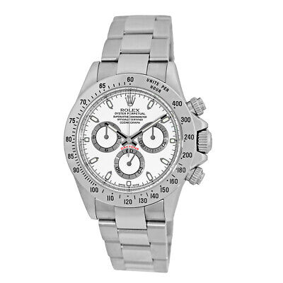 $ CDN23982.45 • Buy ROLEX 40mm Stainless Steel Daytona Cosmograph White 116520 Box Warranty MINTY