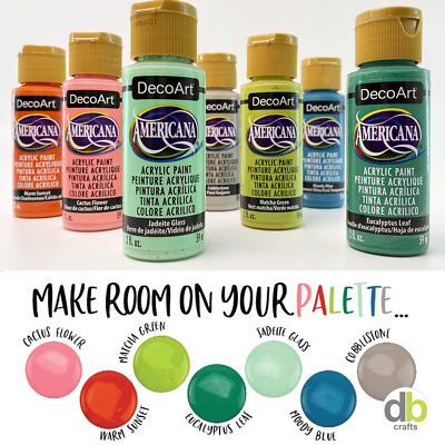 DecoArt Americana Premium Acrylic Paint 2oz 59ml Pot • 2.50£